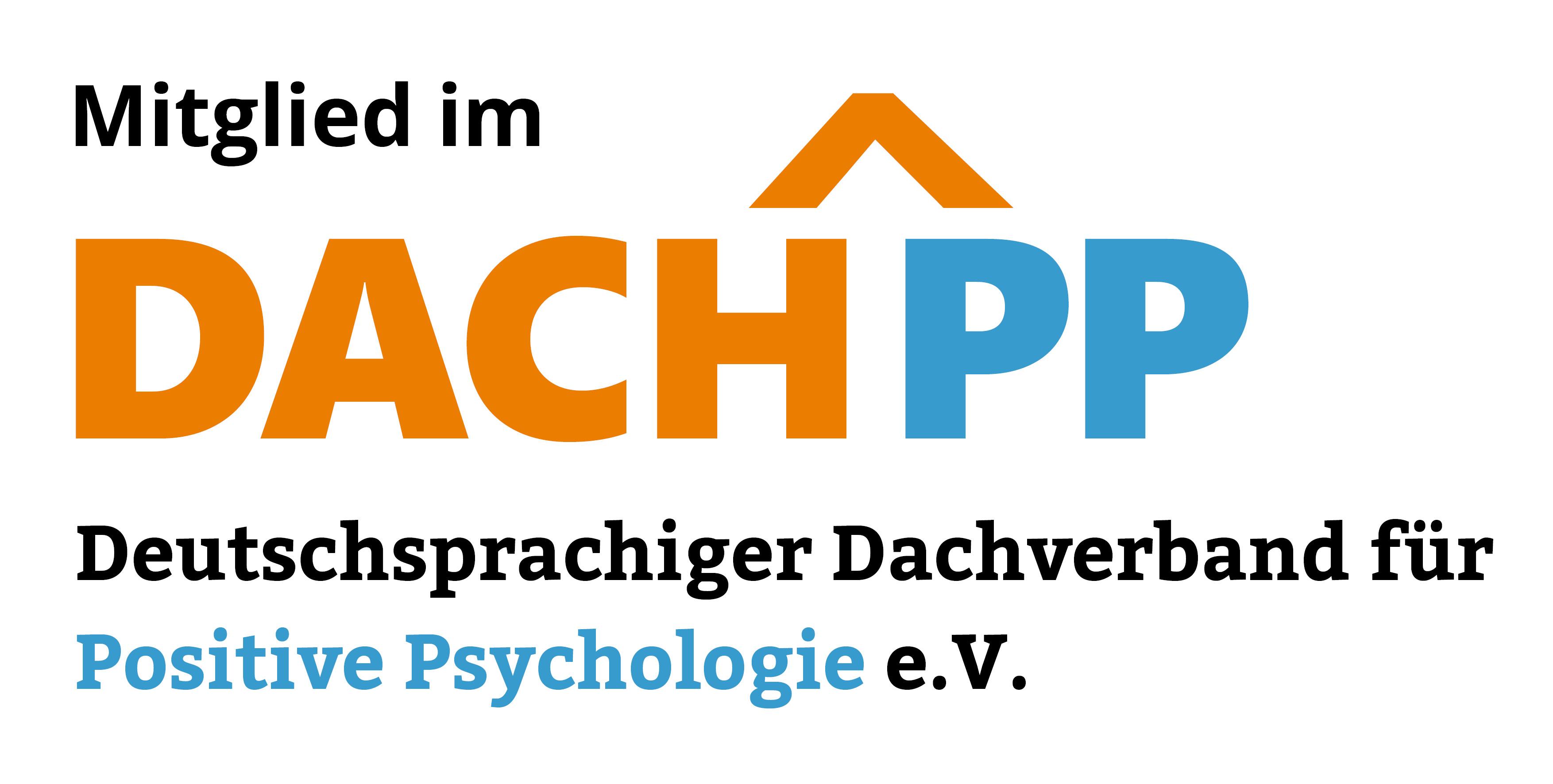 Mitglied im DACH-Verband der Positiven Psychologie