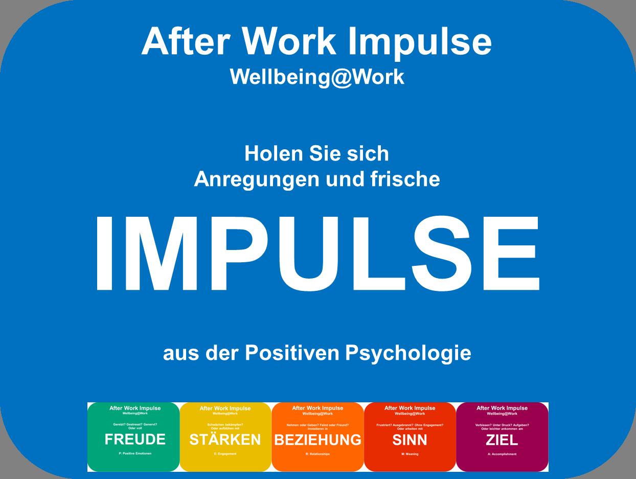 Positive Psychologie in der Arbeit, Positive Psychologie im Beruf