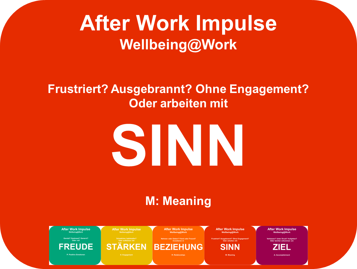 Mehr Sinn finden in der Arbeit - Positive Psychologie Coaching
